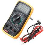 Razni multimetri, ESR metri, merilci upornosti, toka, napetosti ter kapacitivnosti in kabli za multimetre.