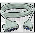 Parallel printer kabli, podaljški in pretvorniki.