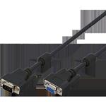 VGA podaljški oz. kabli s priključkoma moški - ženski.