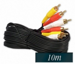 Avdio Video RCA kabel 10m