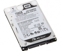 Trdi disk WD Black 750GB 7200rpm 16MB