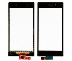 Sony Xperia Z1 Digitizer (touch screen) črn