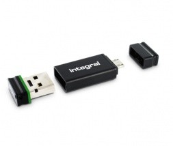 Integral USB 2.0 32GB z OTG adapterjem