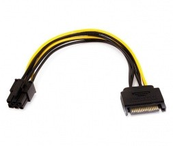 Adapter iz SATA na 6-pin PCI-E