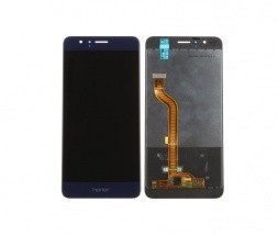 LCD zaslon in digitizer za Huawei Honor 8 - modre barve